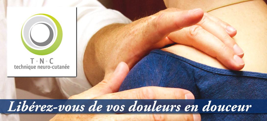 Technique neuro-cutanée ostéopathie fasciathérapie Nantes